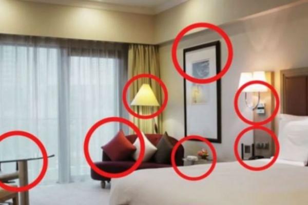 Κρυφή κάμερα στα ξενοδοχεία; Αν δείτε αυτά τα σημάδια τρέξτε μακριά!