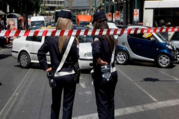 Χάος στο κέντρο της Αθήνας: Κλειστοί οι δρόμοι! (photo)