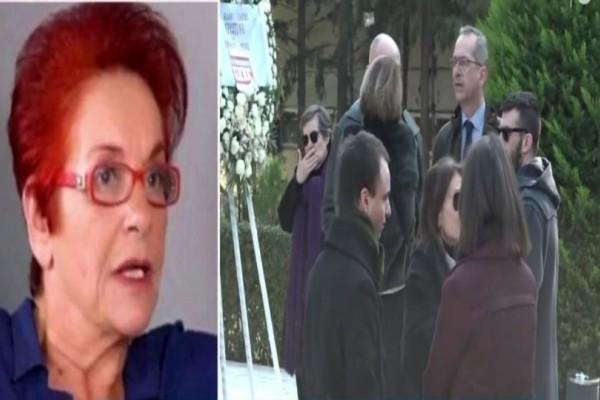 Θλίψη! Το τελευταίο «αντίο» στη Χριστίνα Λυκιαρδοπούλου!  (Video)