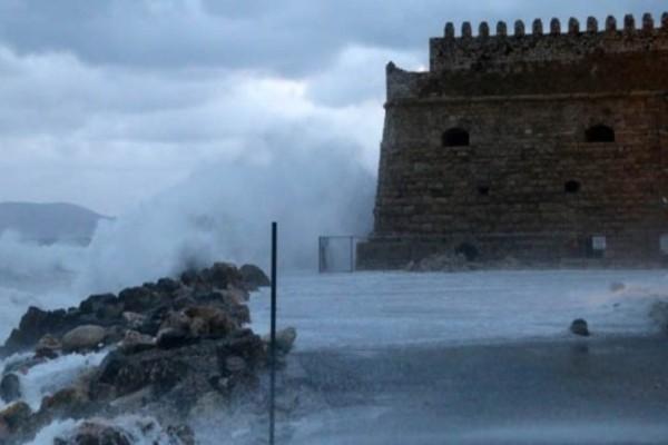 Κρήτη: Χιόνια σε Λασίθι και Ανώγεια! Πολλαπλά προβλήματα από την κακοκαιρία!