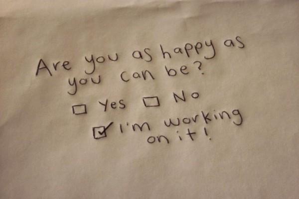 Η ευτυχία του να είσαι... δυστυχισμένος και όχι μίζερος! Το ένα αλλάζει, το άλλο όχι...