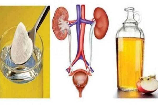 Θα σας σώσει: Βάλτε κάθε πρωί στο ποτήρι σας μαγειρική σόδα, μηλόξυδο και νερό! Θα δώσετε το καλύτερο δώρο στο σώμα σας!