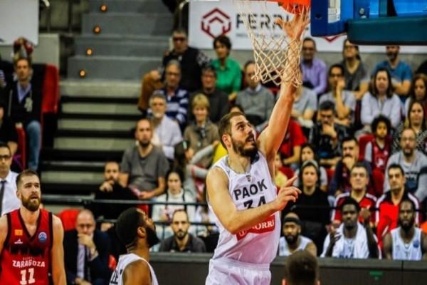 Basketball Champions League, Σαραγόσα-ΠΑΟΚ 86-76: Ήττα με το κεφάλι