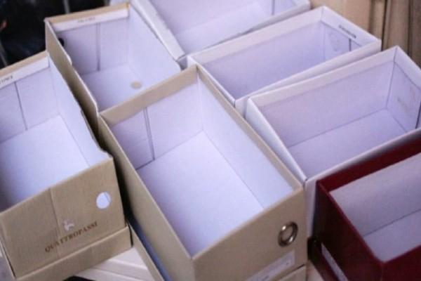 Με άδεια κουτιά από παπούτσια και ελάχιστα χρήματα μπορείτε να φτιάξετε εξαιρετικά χρήσιμες κατασκευές για το σπίτι!