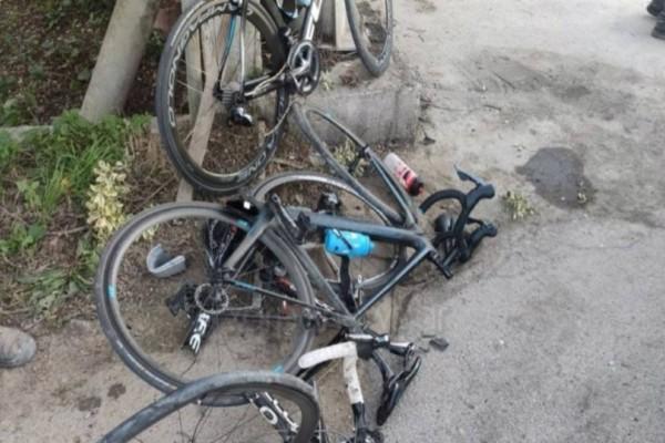 Τροχαίο στα Χανιά με τρεις τραυματίες!