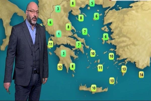 Η περιοχή της Ελλάδας που θα παραμείνει χωρίς ήλιο! Η προειδοποίηση του Σάκη Αρναούτογλου! (Video)