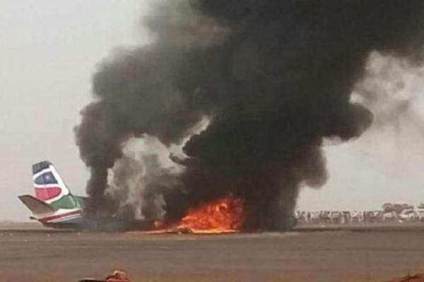 Σουδάν: Συνετρίβη στρατιωτικό αεροσκάφος!