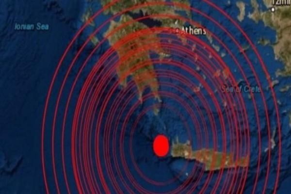 Σεισμός στην Κρήτη!