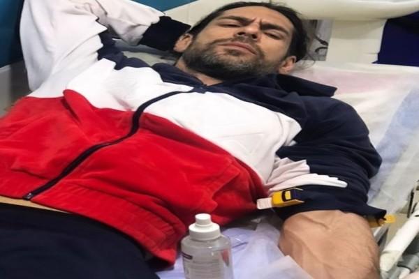 Εσπευσμένα στο νοσοκομείο ο Γιάννης Σπαλιάρας!