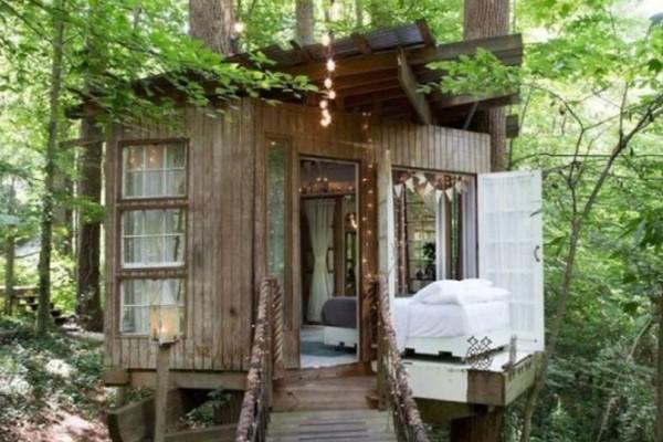 Δεντρόσπιτο είναι το πιο περιζήτητο Airbnb παγκοσμίως και το εσωτερικό του μοιάζει βγαλμένο από παραμύθι!