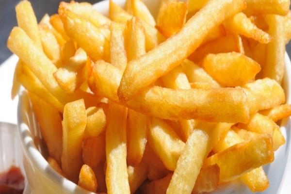 Θεραπευτικές οι τηγανιτές πατάτες! Το ήξερες;