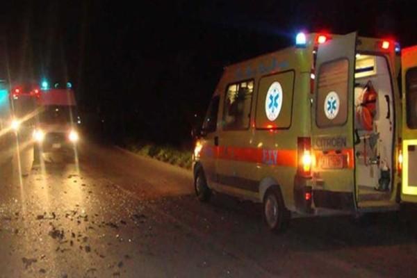 Σοβαρο τροχαίο στην εθνική οδό Αθηνών-Λαμίας: Φορτηγό συγκρούστηκε με αυτοκίνητο!