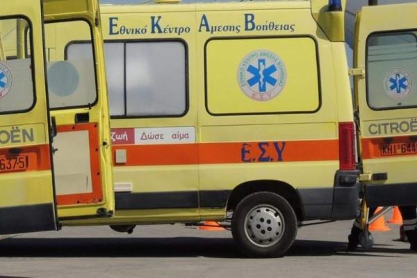 Σοβαρό τροχαίο στο Ηράκλειο: Αυτοκίνητο συγκρούστηκε με μηχανή!