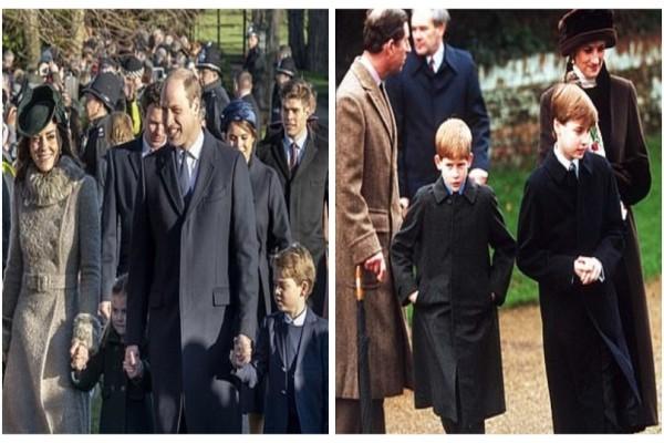 Η Κέιτ Μίντλετον και ο πρίγκιπας Ουίλιαμ παίρνουν την θέση της Νταϊάνα και του πρίγκιπα Καρόλου!