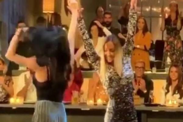 2 Ελληνίδες τραγουδίστριες σηκώνονται στον Σπύρο Παπαδόπουλο να χορέψουν τσιφτετέλι! Λίγο μετά τα likes έπεσαν βροχή
