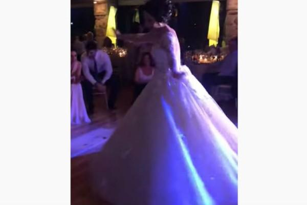 Μερακλού νύφη χορεύει ζεϊμπέκικο και αποθεώνεται!
