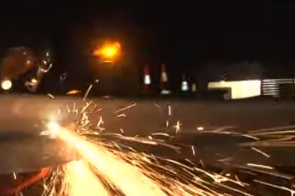 Φρικτό θανατηφόρο τροχαίο στην Εθνική Οδό: Σοκάρουν οι εικόνες! (video)