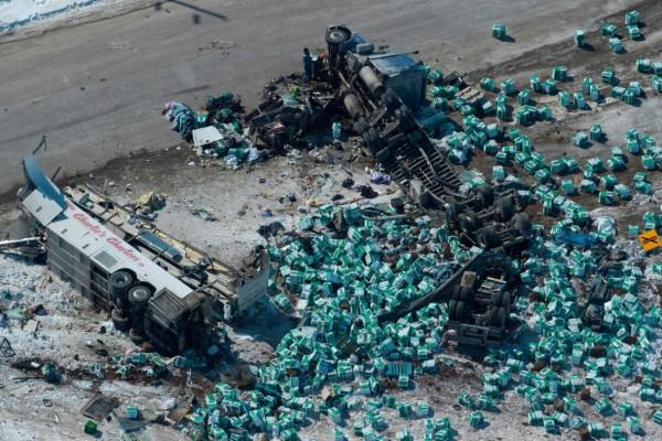 Τραγωδία! Απίστευτη καραμπόλα με 200 αυτοκίνητα και δύο νεκρούς!