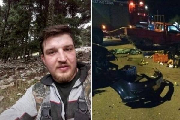 28χρονος νεκρός στην Αχαΐα: Θλίψη για τον Γιάννη Κραββαριώτη!
