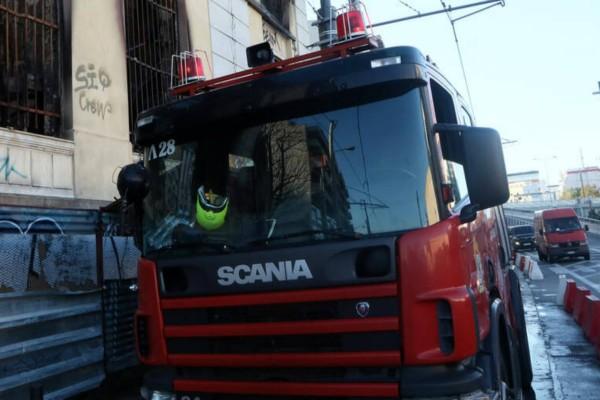 Φωτιά σε οίκημα στο κέντρο της Αθήνας!