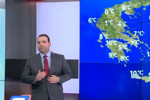 Αλλάζει ο καιρός! Έρχονται βροχές, καταιγίδες και δυνατοί άνεμοι! Προειδοποίηση από τον Κλέαρχο Μαρουσάκη! (Video)