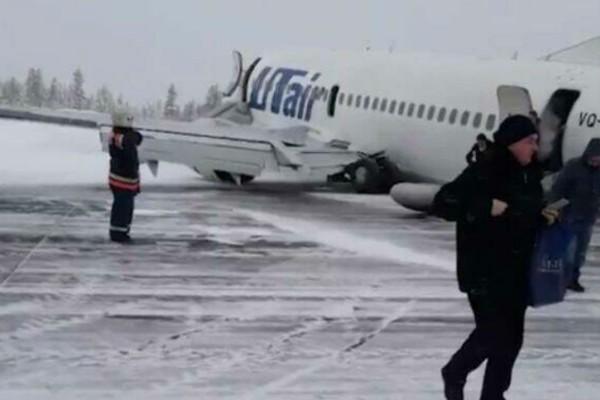 Θρίλερ στον αέρα για 94 επιβάτες! Αεροπλάνο έπαθε βλάβη κατά τη διάρκεια προσγείωσης! (Video)