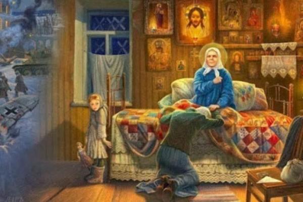 «Στους έσχατους καιρούς θα πάρετε χώμα, θα κάνετε κουλουράκια, θα τα σταυρώνετε, και θα είναι σαν ψωμί!» Συγκλονιστική προφητεία της Αγίας Ματρώνας!