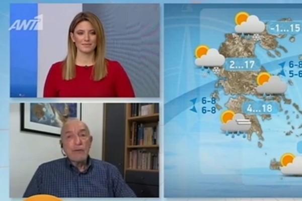 Περίεργη η σημερινή ημέρα του καιρού! Ο προβληματισμός του Τάσου Αρνιακού και η αρχική πρόγνωση για το 3μερο της Καθαράς Δευτέρας (Video)