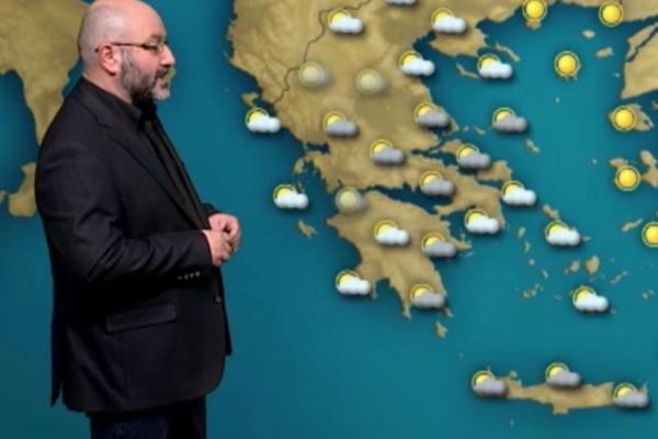 Επιδείνωση του καιρού με βροχές και χιόνια! Η προειδοποίηση του Σάκη Αρναούτογλου! (Video)
