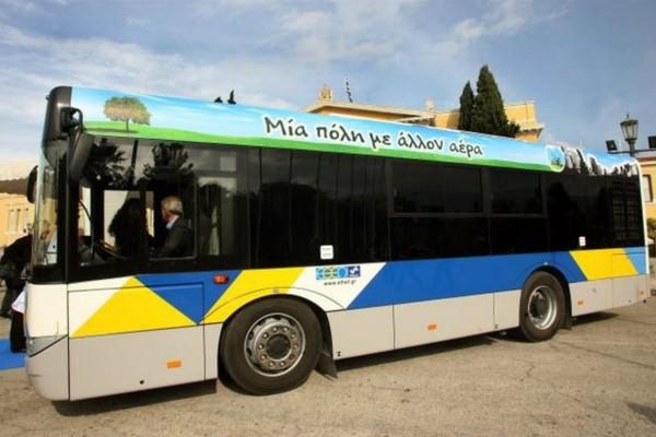 Τρόμος στη Γλυφάδα! Λεωφορείο έπεσε σε στάση!