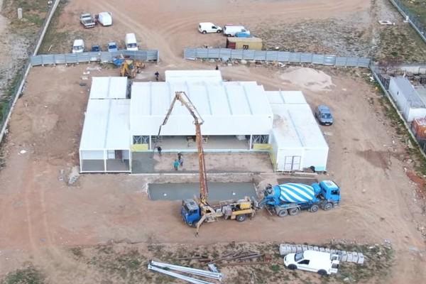 Χτίστηκε μέσα σε λίγες μέρες: Το σπίτι του Big Brother στο Μαρκόπουλο από ψηλά! (video)