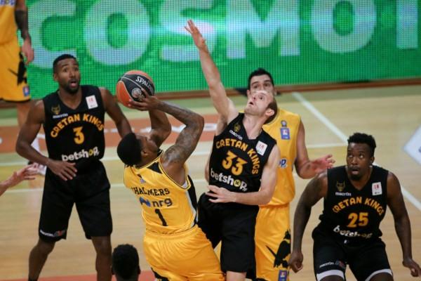Basket League: Λύτρωση... από τη γραμμή για την αποδεκατισμένη ΑΕΚ! (video)