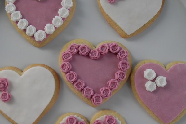 Τα πιο ρομαντικά μπισκότα για του Αγίου Βαλεντίνου!