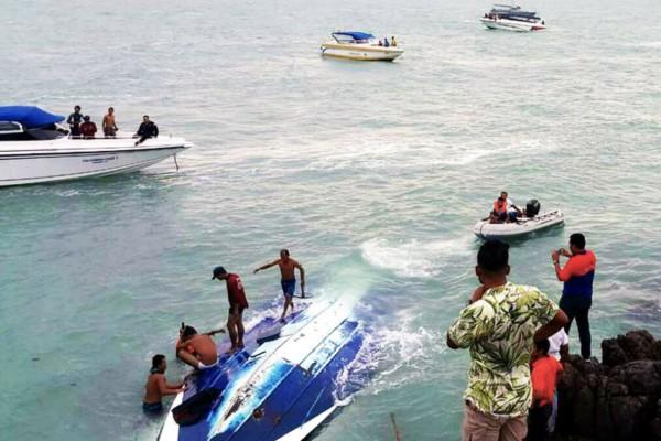 Τραγωδία στην Ταϊλάνδη! Δύο παιδιά πέθαναν σε δυστύχημα με σύγκρουση ταχυπλόοων! (video)