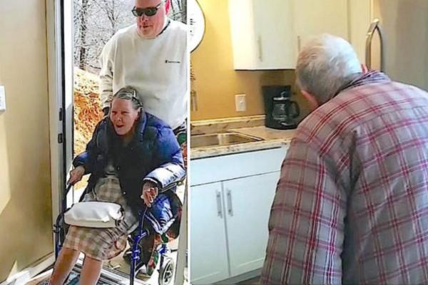 Γιος ανακαίνισε το σπίτι του 87χρονου παππού και της γιαγιάς - Όταν είδαν το αποτέλεσμα ξέσπασαν σε λυγμούς