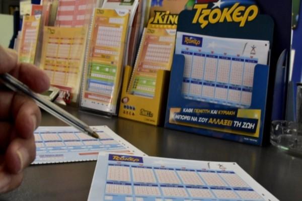 Τζόκερ: Οι τυχεροί αριθμοί για τα 5.000.000 ευρώ