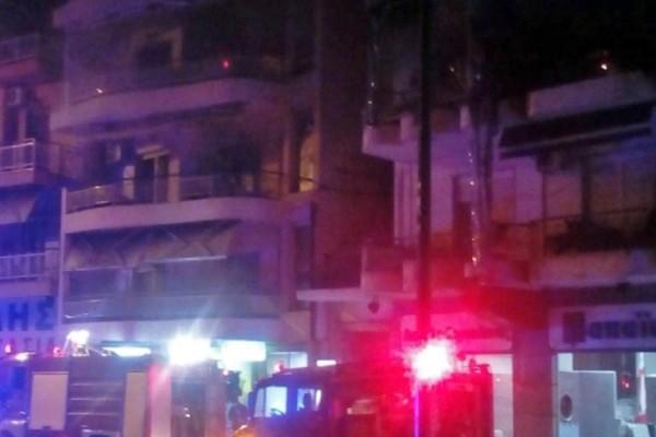 Καβάλα: Νεκρή ηλικιωμένη από φωτιά σε διαμέρισμα!