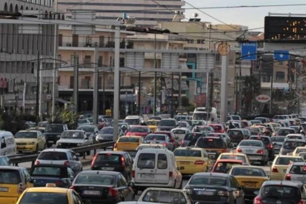 Στο «κόκκινο» η κίνηση στους δρόμους της Αθήνας! Που παρατηρείται μποτιλιάρισμα; (Photo)