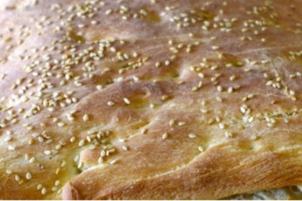Λαγάνα φούρνου με μπέικιν ή μαγειρική σόδα χωρίς προζύμι