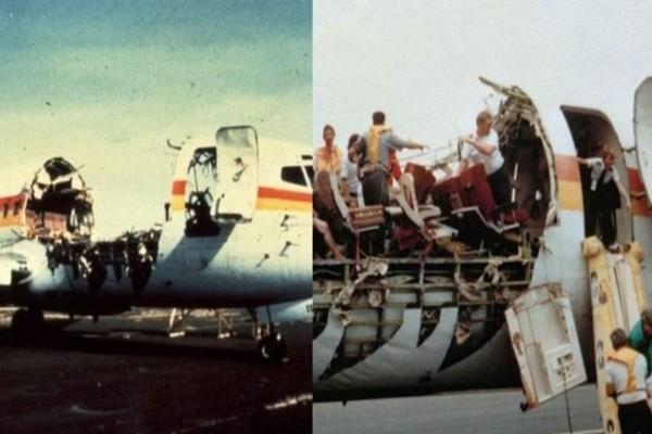 Η πτήση θαύμα, η σωτήρια προσγείωση και η εικόνα που αεροπλάνου που έμεινε για πάντα στην ιστορία!