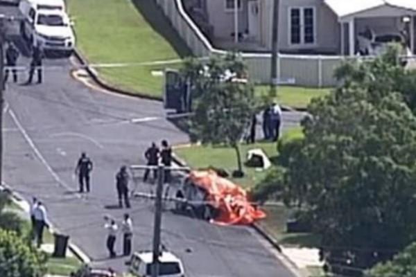 Φρίκη! Οικογένεια κάηκε μέσα σε αυτοκίνητο! (photos-video)