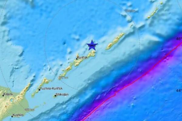 Ισχυρός σεισμός 6,9 Ρίχτερ στην Ιαπωνία!