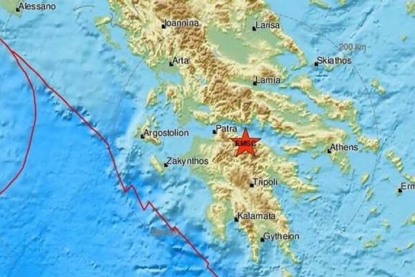 Νέος σεισμός στα Καλάβρυτα!