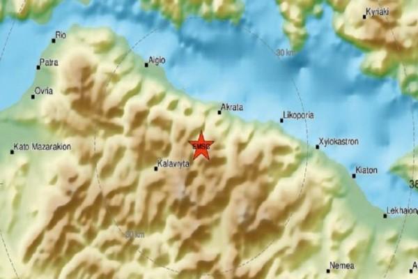 Δυνατός σεισμός στα Καλάβρυτα! (photo)