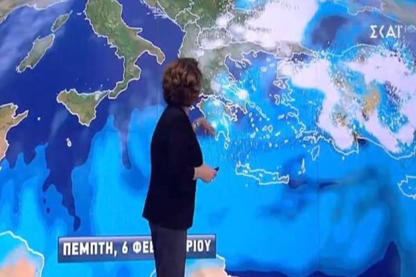 Μεγάλη ανατροπή του καιρού από την Χριστίνα Σούζη! Ποια χιόνια; Ξεχάστε τα!