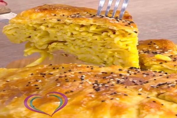 Συνταγή για τάρτα καρμπονάρα από την Μαρία Εκμεκτσίογλου! (Video)