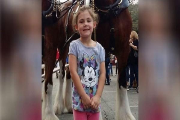 Το  μικρό κορίτσι ποζάρει με ένα άλογο και όλοι ξεσπάνε σε γέλια. Ο λόγος; Για κοιτάξτε λίγο καλύτερα τη φωτογραφία!