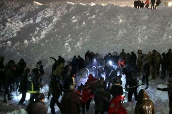 Τραγωδία στην Τουρκία: 4 νεκροί από χιονοστιβάδα!
