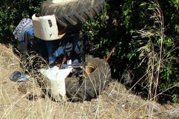 Τραγωδία στην Κρήτη! Αγρότης καταπλακώθηκε από το τρακτέρ και πέθανε!