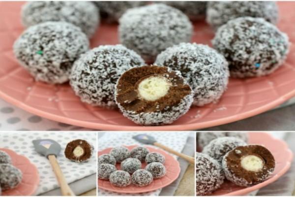 Σοκολατένια τρουφάκια με ζαχαρούχο γάλα έτοιμα σε 15 λεπτά και με 4 υλικά!